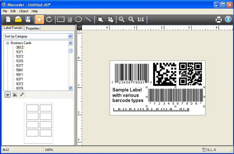 Download new release iBarcoder, Windows barcode generator