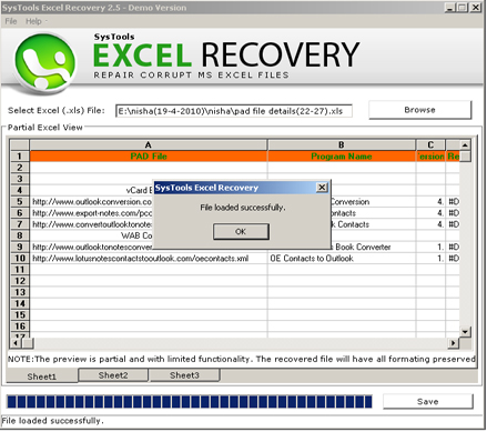 Corrupt Excel Files Recovery